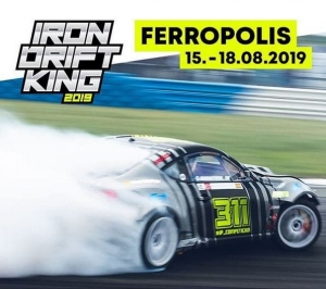 Iron Drift King 2019 in Ferropolis gestartet
